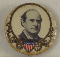 Image of 8245-4 [dup2] - Button, Political; William Jennings Bryan